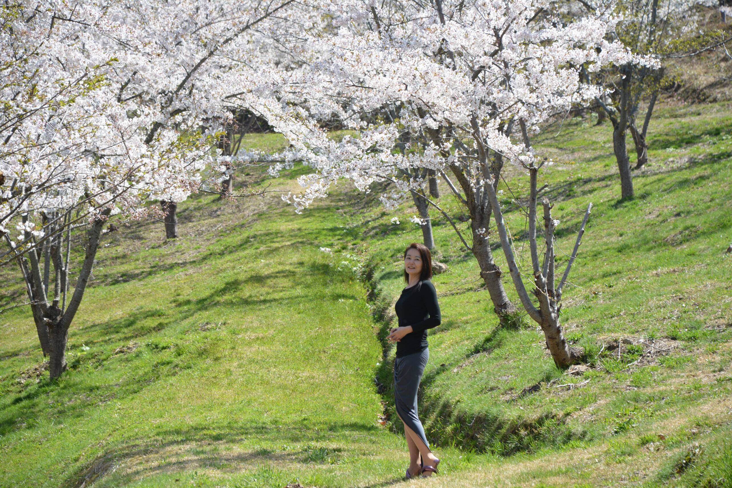 真人公園で桜の撮影会