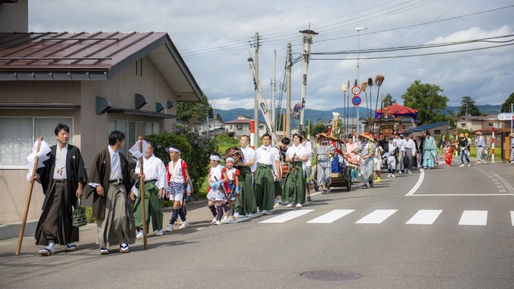今泉祇園囃子