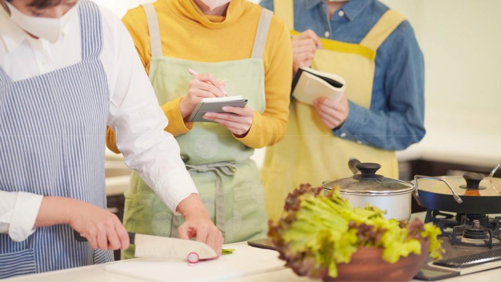 南部シルバーエリア料理教室
