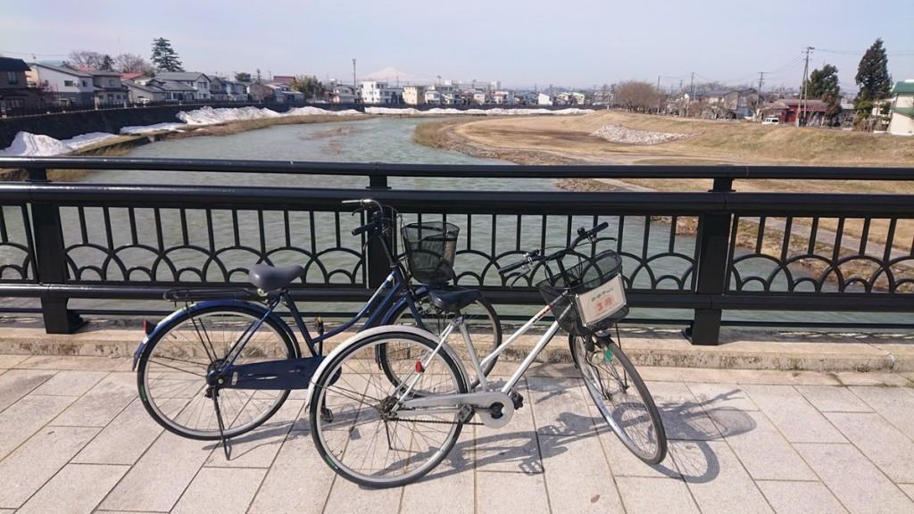 横手市観光協会のレンタサイクル、今季営業が始まる