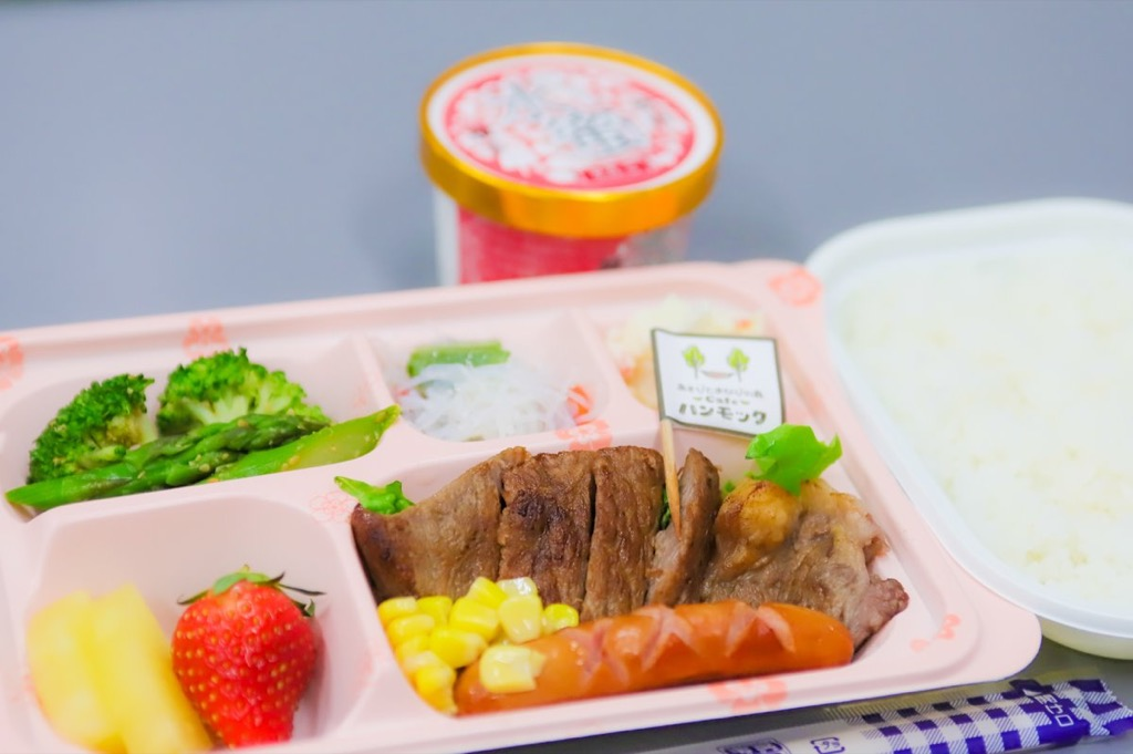 横手の児童福祉2施設に特製「アマビエ弁当」を無償提供 市内7社が連携